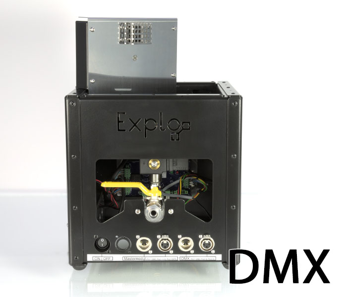 DMX Expansion of the explo Flame device