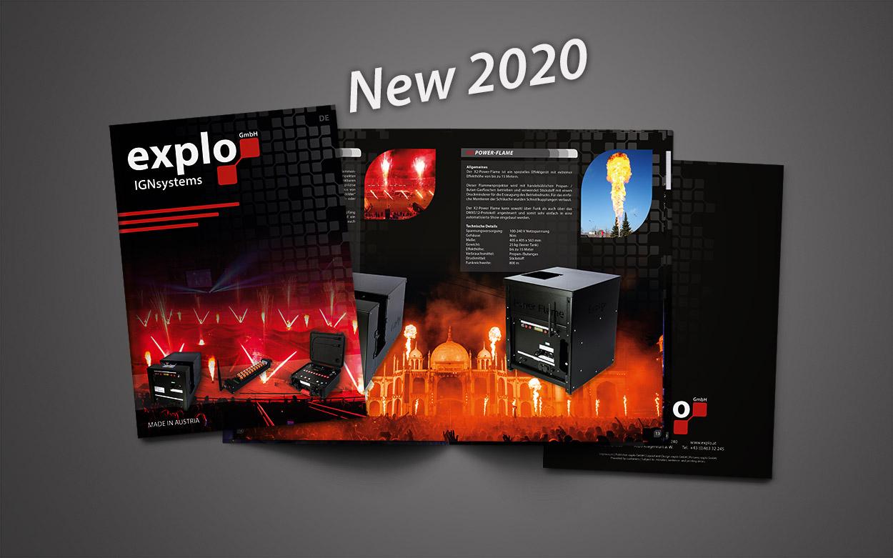 New product folder 2020